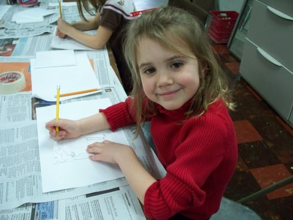 Comprehensive visual arts program