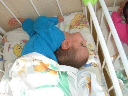child in orphanage in Buzovgrad, Bulgaria