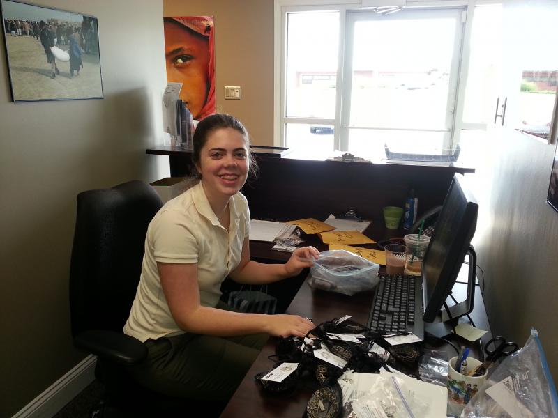 Elizabeth is a Volunteer serving in our office two mornings every week!
