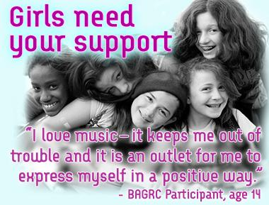 Girls need your support!