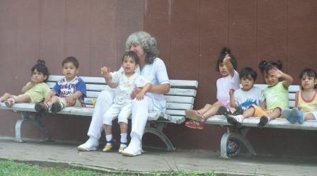 children in orphanage in Buzovgrad, Bulgaria
