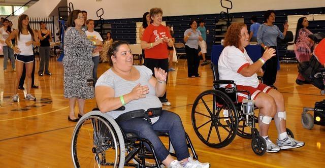 Wheelchair Zumba , Qi gong Event