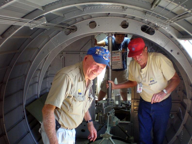 Inside the B-17!