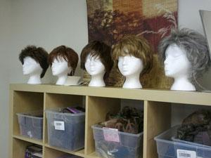 Wigs and prosthetics available