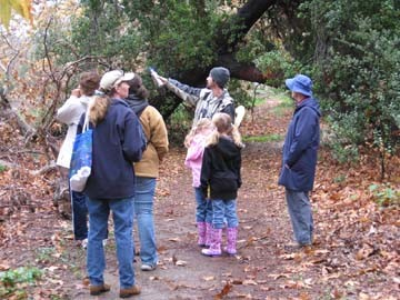 Winter Eco Tour at Santiago Park in Santa Ana, Jan. 2008