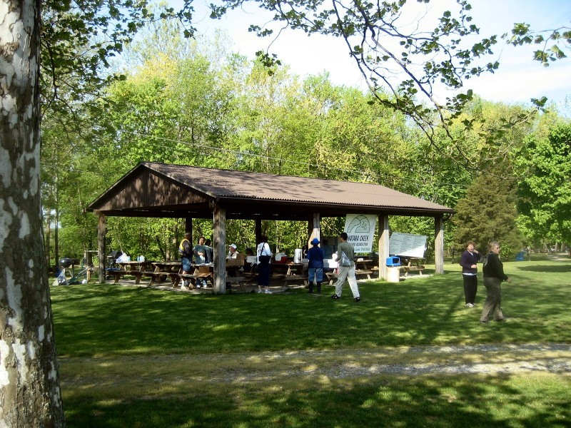 Pavilion at Union Canal Canoe Rentals