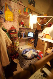 Bolivia: Woman's room in Prison