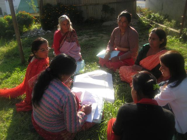 Women's Cooperative Group Meeting, Nepal
