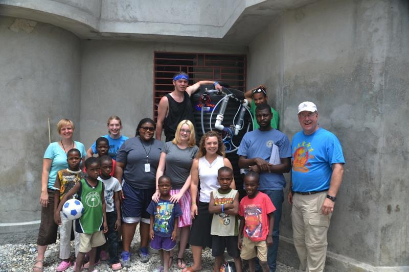 Fountains of Hope Water Team - Indy MET High School