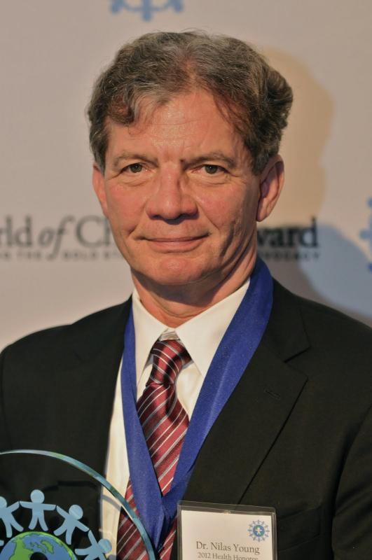Dr. Nilas Young, 2012 Health Award Honoree, is saving young lives in Russia with heart surgery