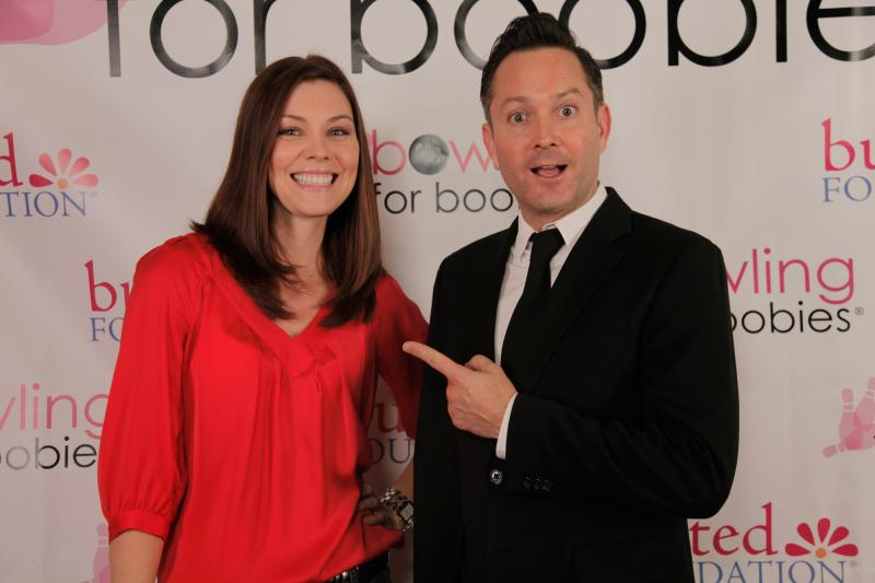 Thomas Lennon and Kaitlynn Black