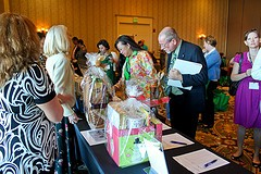 Silent Auction at the THN Annual Conference