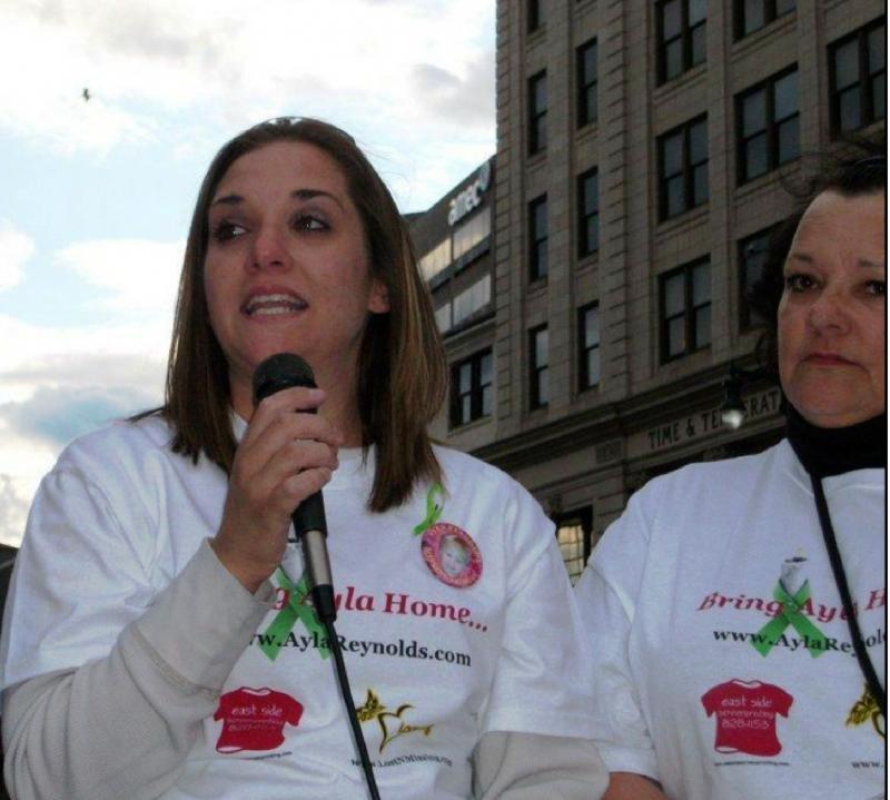 Event for missing Ayla Reynolds APR 2012