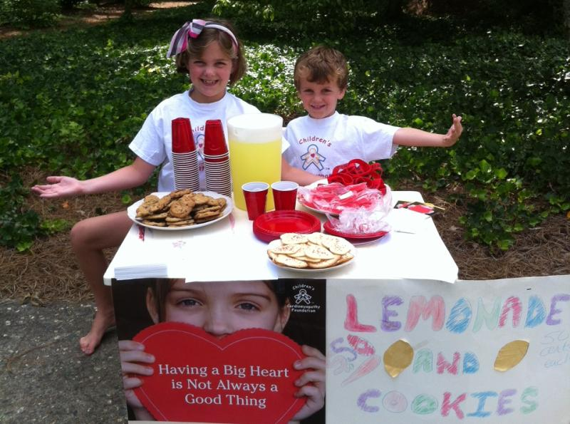 The Bell Family Lemonade Stand CCF Fundraiser