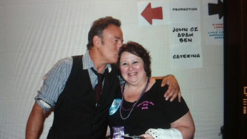 Pam's wish to meet Bruce Springsteen.