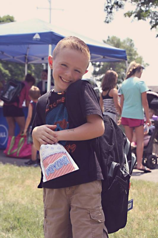 100+ locations. 44,000+ backpacks filled with free school supplies. Miles of smiles from military kids. Thanks to sponsors Dollar Tree, SAIC, Veterans United Foundation, eBags, RetailMeNot and Eckrich for making our Back-To-School Brigade a reality.