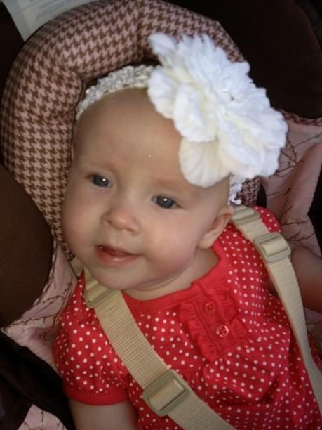 Brie - diagnosed with Polymicrogyria (PMG) at 3 weeks of age