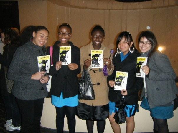 Bronx High Schoolers' Night on Broadway
