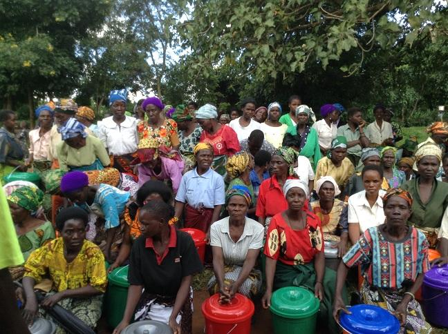 Buckets of Hope- supplies for widows and children