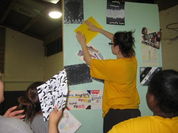 Incarcerated girls create their Art Exhibition