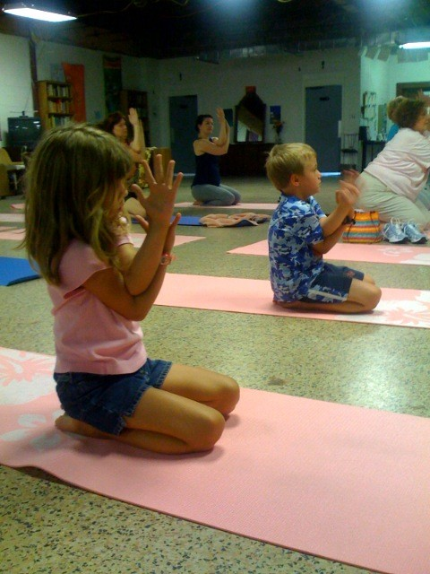 Free Yoga classes at the Community Center