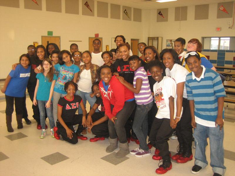 North Carolina Schweitzer Fellows worked to build young students' self-esteem through dance.