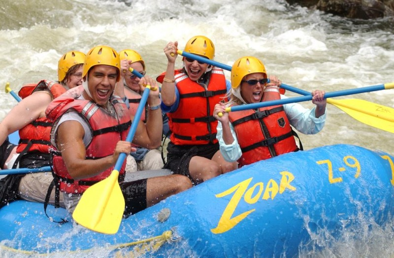 Whitewater Rafting on the Concord River in Lowell