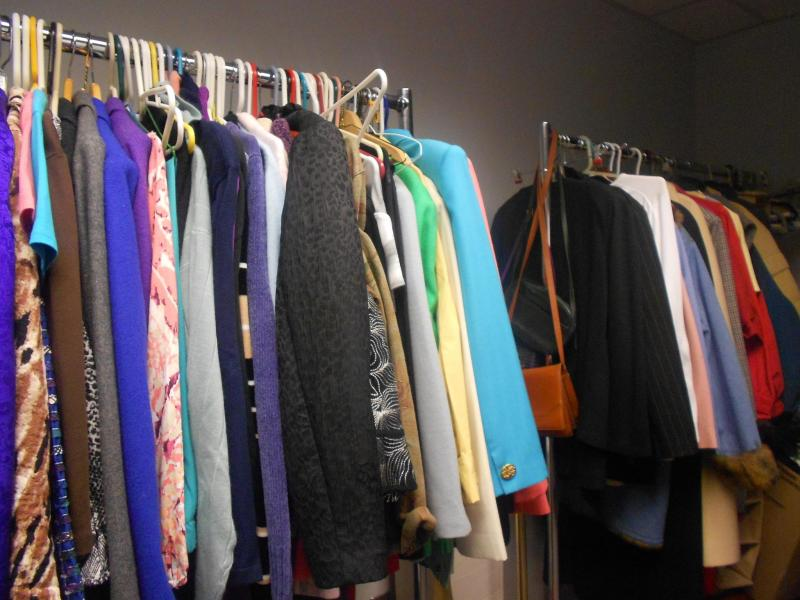 MND's professional clothing closet