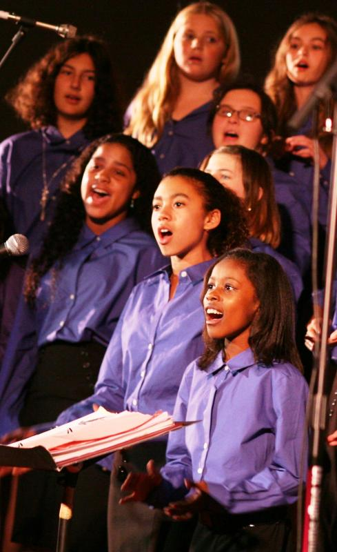 OYC Concert Chorus sings at the 2011 Holiday Concert