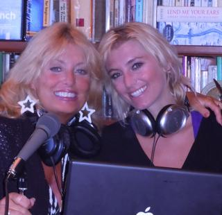 Cynthia Brian * Heather Brittany on air