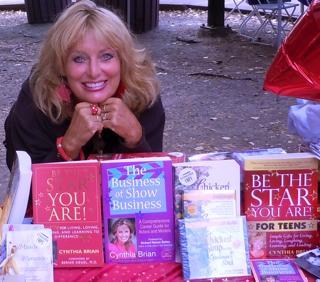 Cynthia Brian & boks she wrote