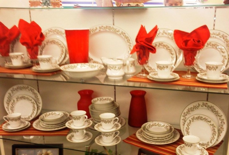 Goodwill Stores sell dishes and other housewares