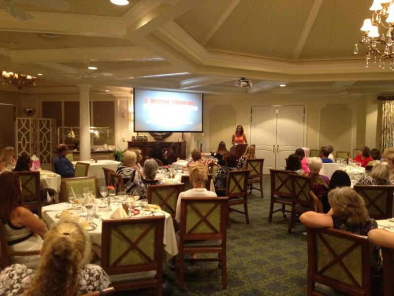 We presented on human trafficking to the Florida Nurse's Association.