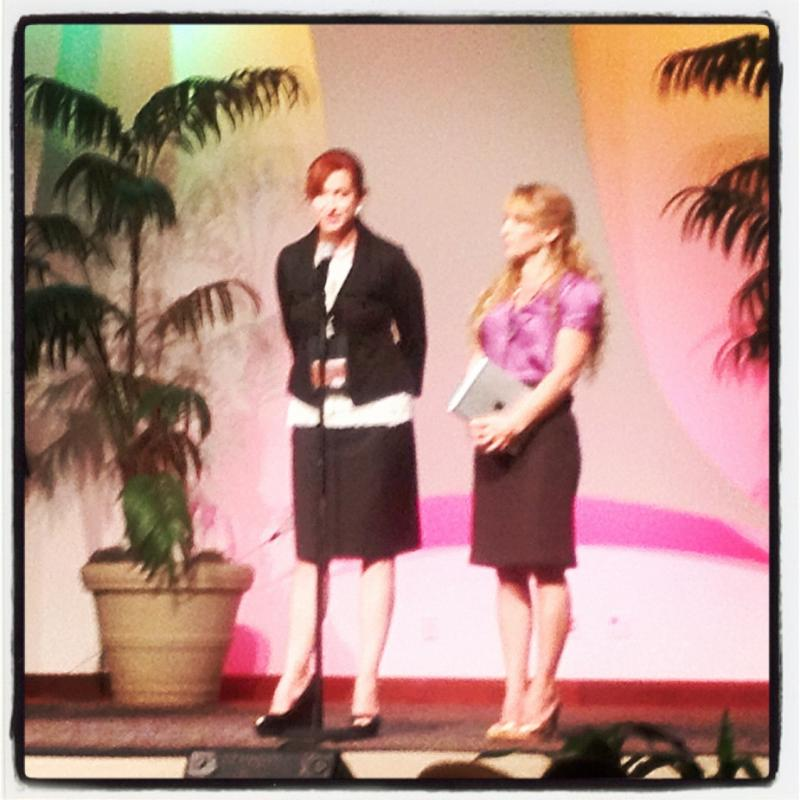 Overcomers, Julie Shematz & Christa Hicks, speaking at McGregor Baptist Church in Fort Myers, FL.