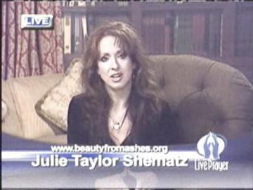Julie Shematz offering hope to individuals in the sex for sale industry on Live Prayer.