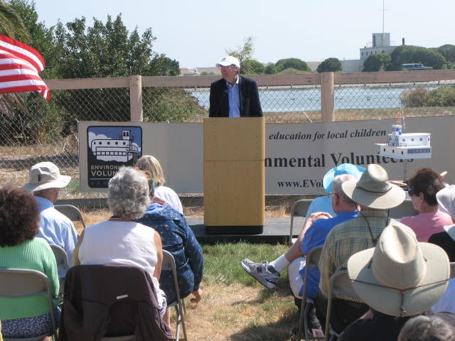 Groundbreaking Ceremony on Sep 14 2008 for New EV EcoCenter
