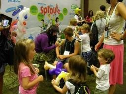 A world of fun for the kids at the Annual Educational Conference