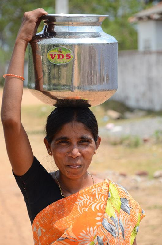 India Partners has provided water wells in many rural villages