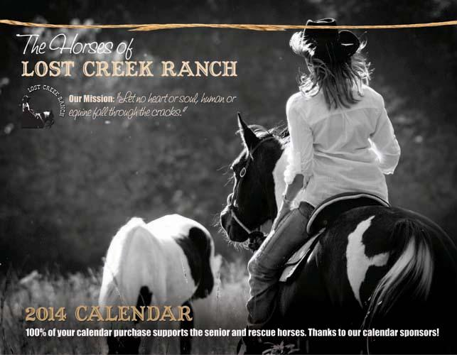 Cover of our 2014 fundraising calendar!