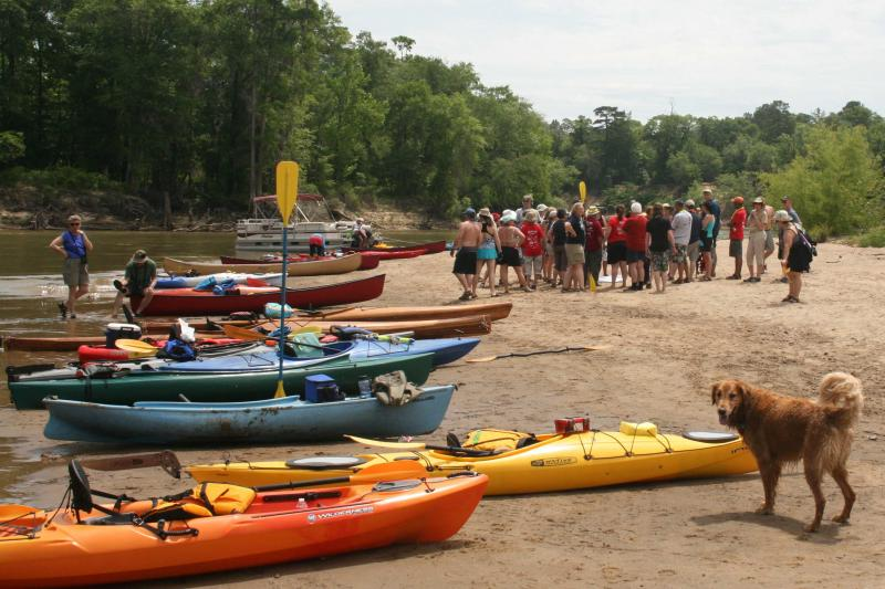 Three Rivers Paddle, part of our Heartland Rivers of Georgia Paddle Series trips