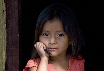 1 in 5 children in Nicaragua is chronically malnourished.
