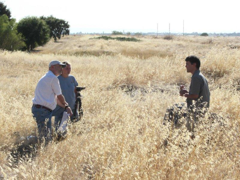 Conservation Director Greg Suba is interviewed for a Center for Plant Conservation publication