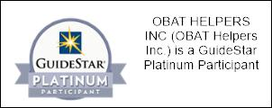 OBAT has a platinum profile on: http://www.guidestar.org/profile/47-0946122