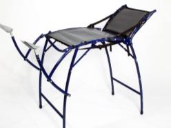 BHI volunteers developed a new Transportable Gynecological Bed to improve screening in rural areas!