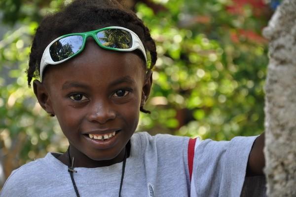 Orphan in Haiti