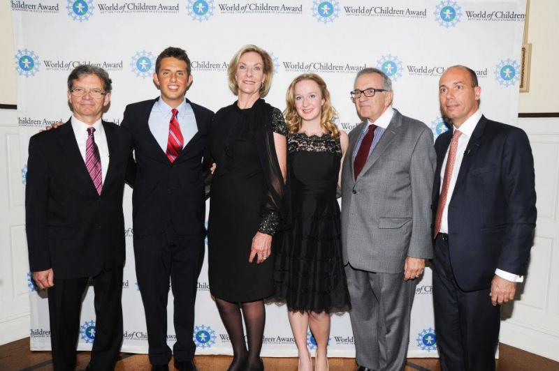 Our 2012 Award winners with our co-founders, Harry Leibowitz and Kay Isaacson-Leibowitz