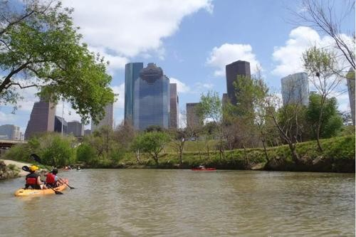 We're helping American cities like Houston & Galveston plan green infrastructure. (Photo: JP,Texas)