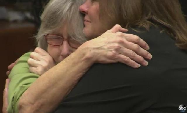 Susan Mellen reacts to being exonerated!