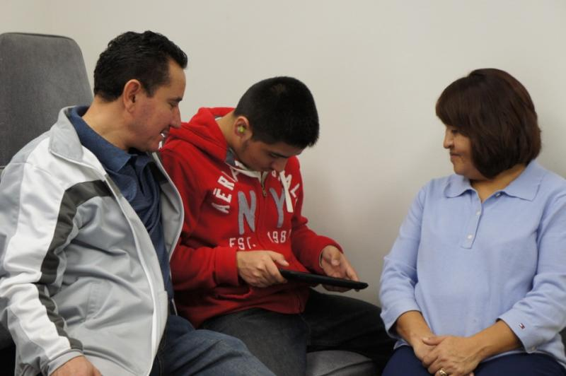 TACA iPad project: helping communication