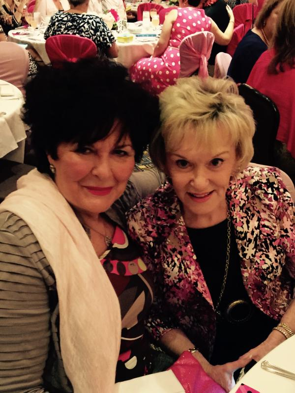 Our founder Barbara MacLean and A special Board member and friend of FIM Rita DVenport
